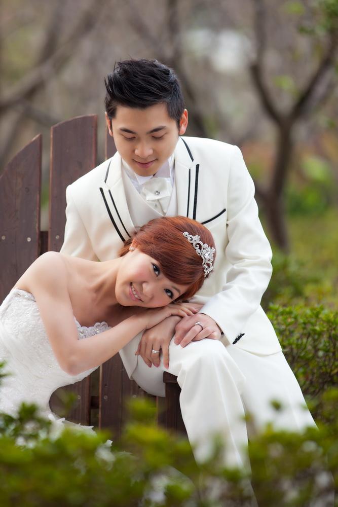 永晉&潔茹 春之嫁衣(編號:431426) - 春之嫁衣精緻婚紗 - 結婚吧一站式婚禮服務平台