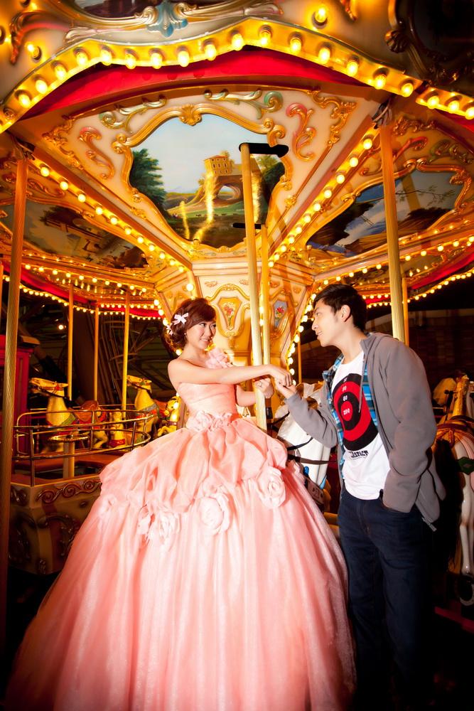 永晉&潔茹 春之嫁衣(編號:431436) - 春之嫁衣精緻婚紗 - 結婚吧一站式婚禮服務平台