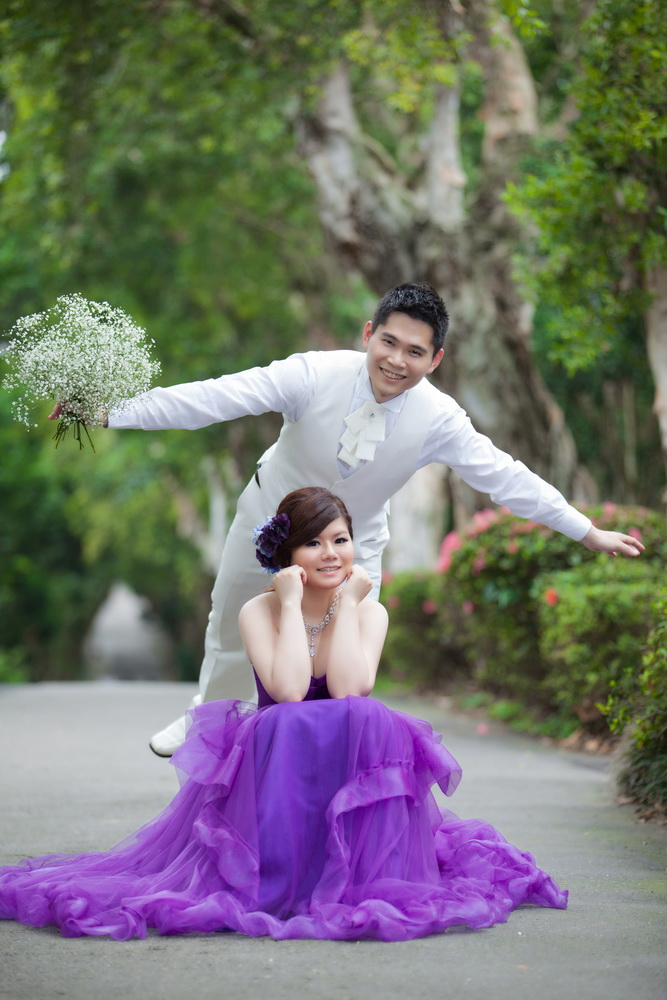 永益&汶芸 春之嫁衣(編號:433381) - 春之嫁衣精緻婚紗 - 結婚吧一站式婚禮服務平台