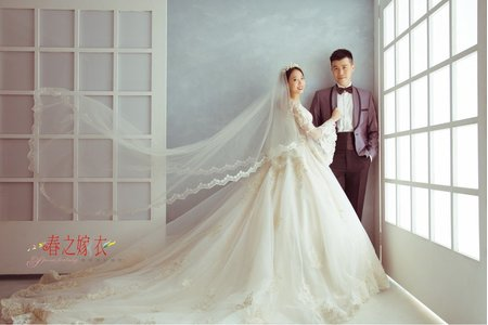 純內景婚紗照