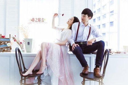 春之嫁衣婚紗攝影~客照1