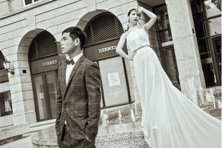 On Amour 自助婚紗 - 凱維&小滋