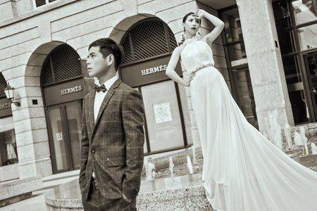 自助婚紗 - 凱維&小滋