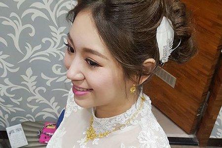 pei makeup-apple 宜蘭囍宴