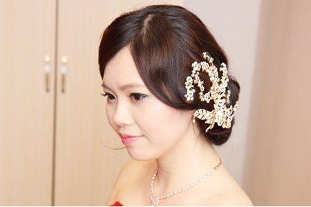 烏黑秀髮新娘韓系甜美造型