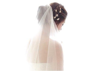 時尚名媛‧氣質好媳婦編髮‧鮮花白紗造型