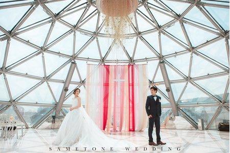 [同調婚禮精華]高質感婚禮在大直典華