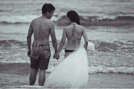自主婚紗。Josh&Linda