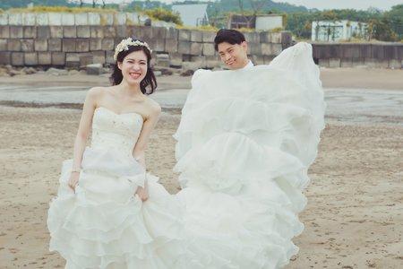 自主婚紗。小林達之&入佐美穗