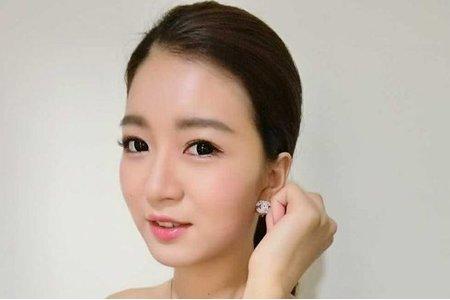 簡單清新韓系新娘妝髮