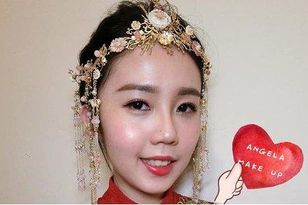 中式龍鳳袍