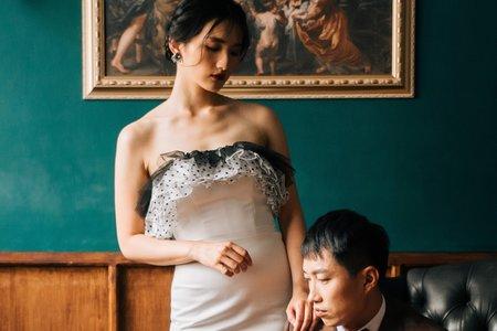 英式復古時裝感婚紗