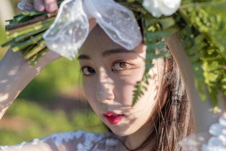 森林女孩輕婚紗