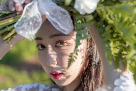 自助婚紗|自然韓系妝感