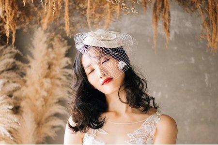 浪漫簡約妝容|浪漫韓系波浪造型