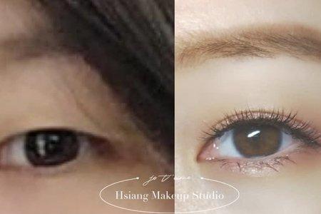 眼妝系列|單眼皮調整雙眼皮|睫毛