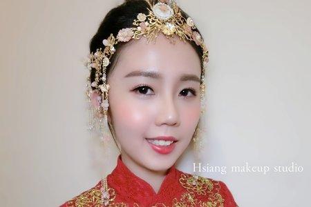中式龍鳳袍妝髮造型系列