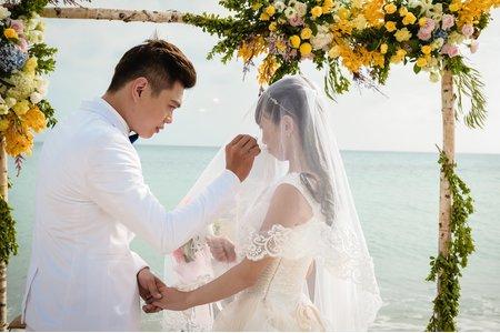 唯樂 夏都沙灘酒店 戶外證婚 晚宴 婚禮紀錄