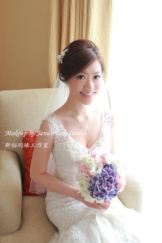 新秘昀臻♥Yvonne♥大倉久和♥結婚 - 新秘昀臻工作室 Janice Tsai - 結婚吧一站式婚禮服務平台