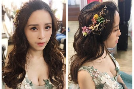 Yvette 瑩榛-髮型&彩妝/子玲