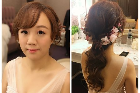Yvette 瑩榛-髮型&彩妝/晚宴-綺