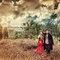 英式復古時尚皮草風格-桔子&蝴蝶婚紗攝影(編號:310532)