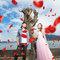 沐夏輕風搖曳著浪紗-桔子&蝴蝶婚紗攝影(編號:310578)
