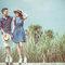 奔跑的微加小幸福-桔子&蝴蝶婚紗攝影(編號:311090)