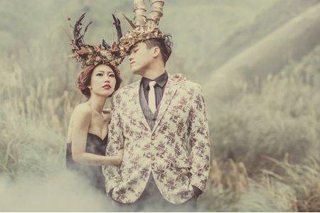 神秘的魔幻巨影-桔子&蝴蝶婚紗攝影