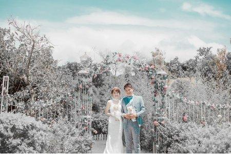 我們的初次約會淡水莊園-桔子&蝴蝶婚紗攝影