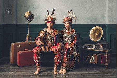 原住民傳統服飾X婚紗照