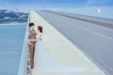 邊拍婚照邊旅行-沖繩