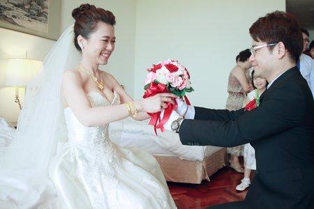 婚攝 |婚禮紀錄 毓建&清心