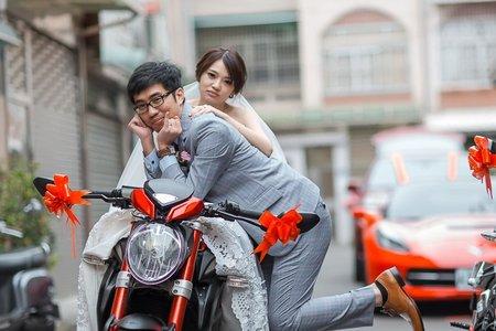 [婚攝]-俊良&旻吟 婚禮紀錄 @ 嘉義 一葉日本料理 #婚攝麒閔