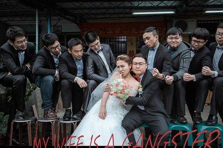 [婚攝]-哲彰&予婷婚禮紀錄 @ 嘉義金山樓餐廳 #婚攝麒閔