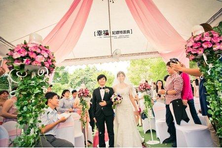 【戶外婚禮】- 愛與勇氣 青青草園
