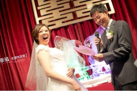 【婚禮宴客】- 我想''愛''是動詞 香格里拉台北遠東國際大飯店