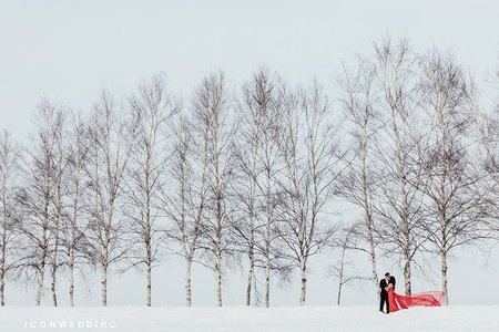 海外婚紗-北海道-御雲(下集)