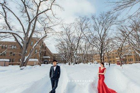 海外婚紗-北海道-小蕎