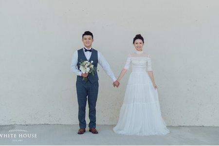 白宮婚紗|美式婚紗
