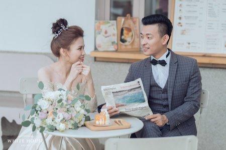白宮婚紗|浪漫甜美