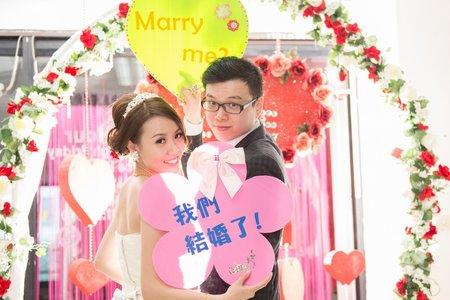 世明&子暄 台中迎娶到台北婚禮記錄