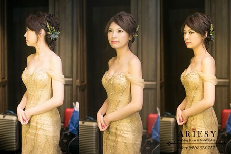 細軟髮新娘秘書