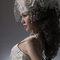 華麗宮廷白色婚紗禮服造型(編號:374029)
