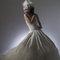 華麗宮廷白色婚紗禮服造型(編號:374051)