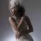 華麗宮廷白色婚紗禮服造型(編號:374052)