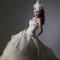 華麗宮廷白色婚紗禮服造型(編號:374053)