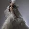 華麗宮廷白色婚紗禮服造型(編號:374054)