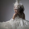 華麗宮廷白色婚紗禮服造型(編號:374056)