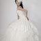 華麗宮廷白色婚紗禮服造型(編號:374058)